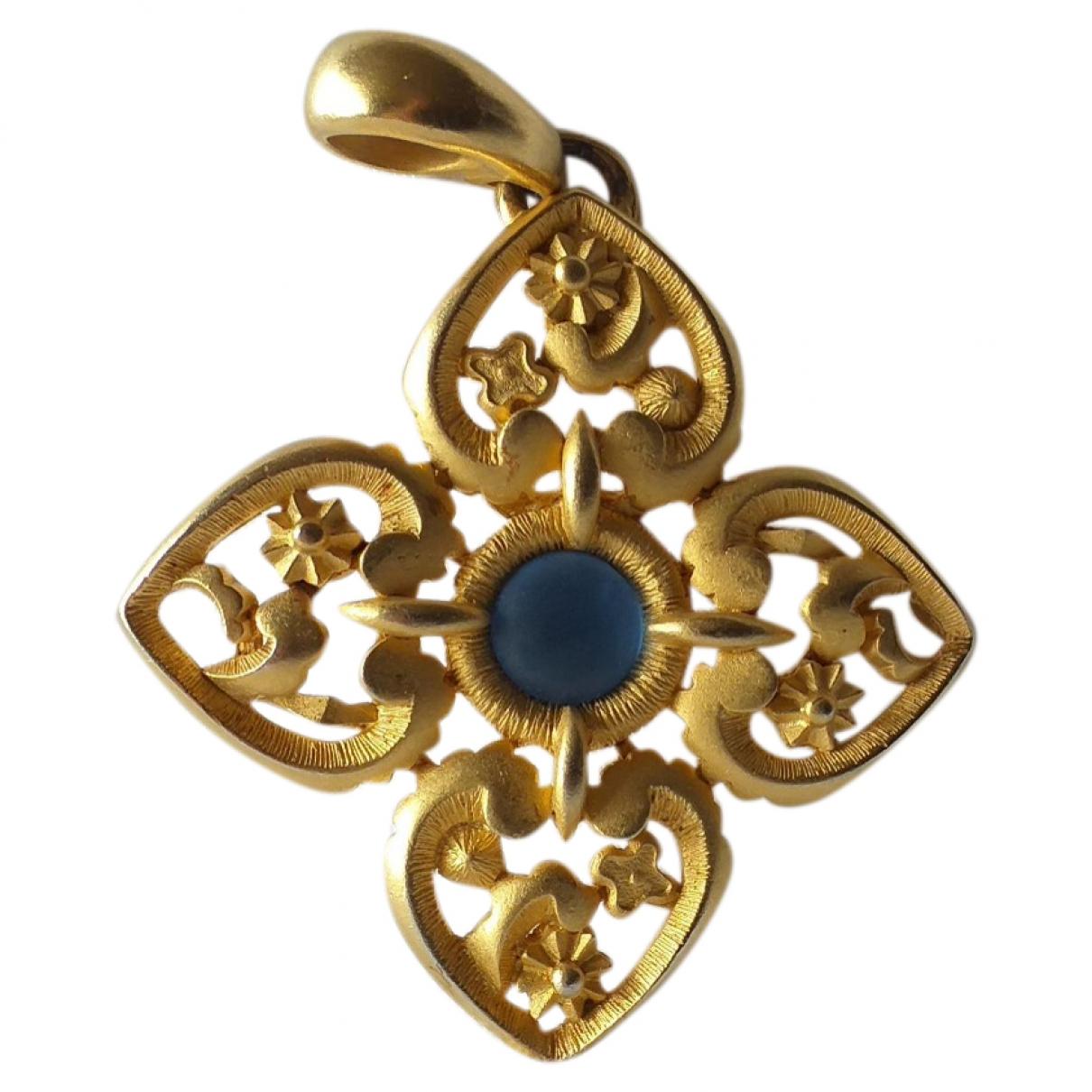 Lanvin \N Gold Metal pendant for Women \N