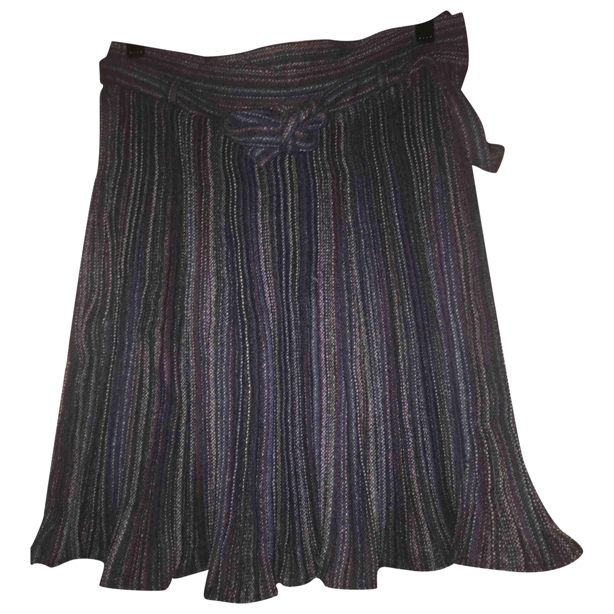 Nina Ricci \N Blue Wool skirt for Women 10 UK