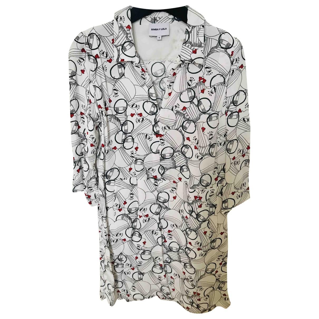 Bimba Y Lola - Robe   pour femme - blanc
