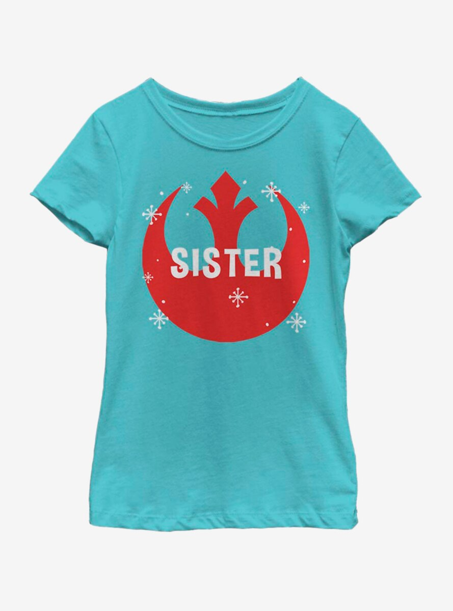 Star Wars Overlay Sister Youth Girls T-Shirt