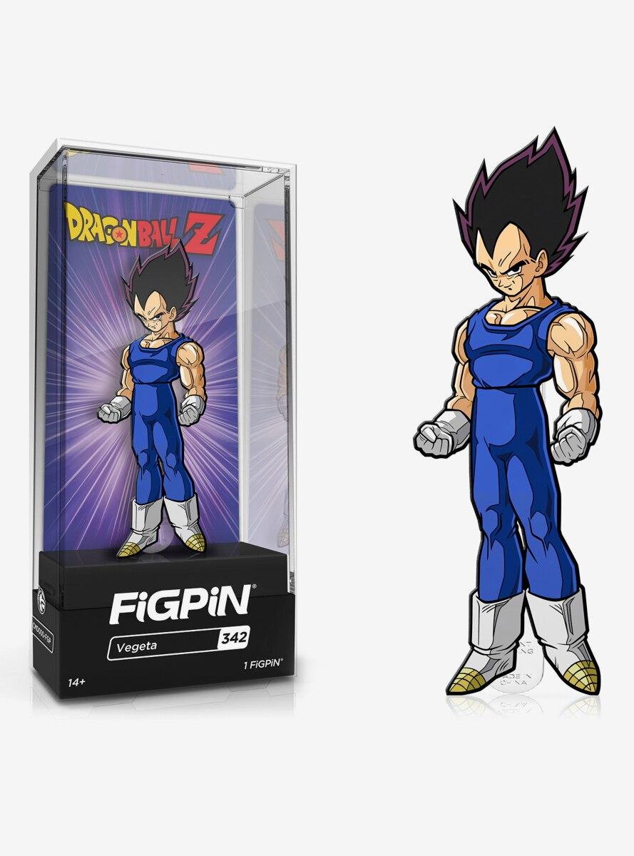 FiGPiN Dragon Ball Z Classic Vegeta Enamel Pin
