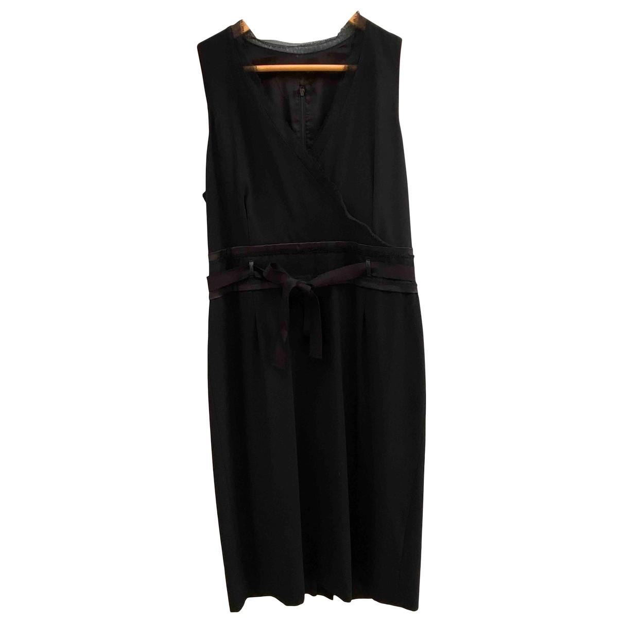 Boss \N Kleid in  Schwarz Synthetik