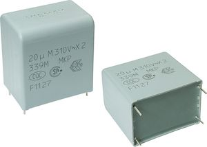 Vishay 330nF Polypropylene Capacitor PP 305 V ac, 630 V dc ±20% Tolerance Through Hole F339X2 Series (225)