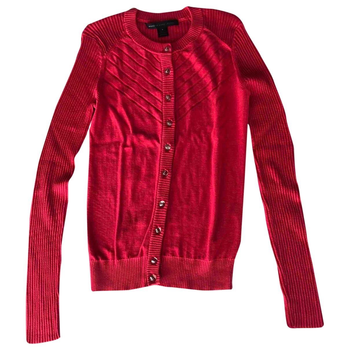 Marc By Marc Jacobs - Pull   pour femme en coton - rouge