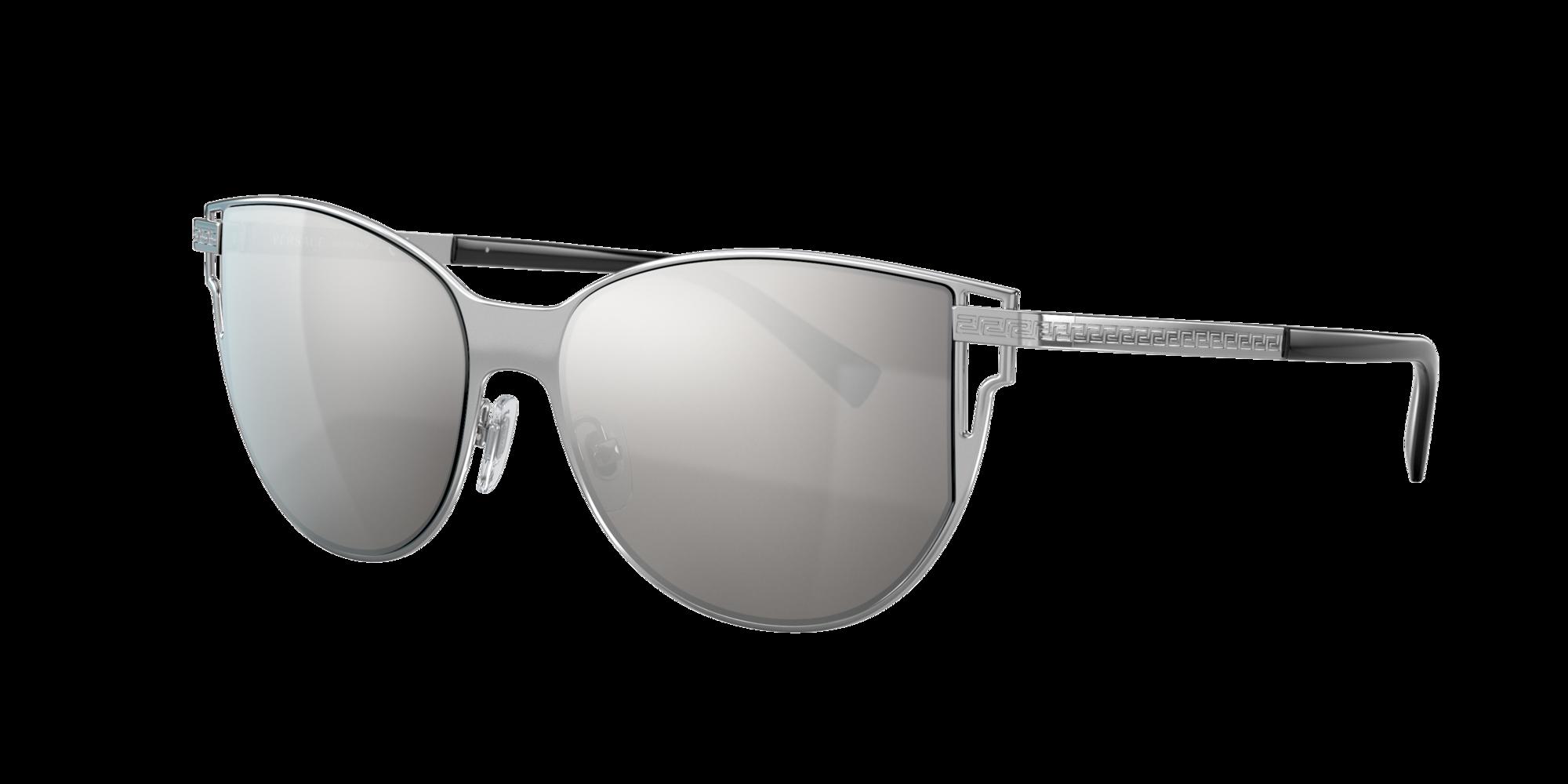 Versace Unisex  VE2211 -  Frame color: Gris, Lens color: Plata, Size FA-LS/140