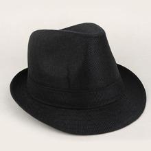 Maenner Einfarbige Hut mit Schnalle