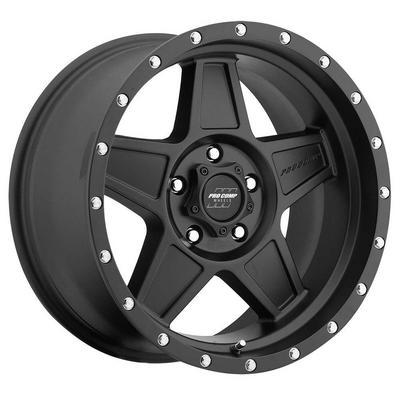 Pro Comp 35 Series Predator Wheel, 17x8.5 with 5 on 5 Bolt Pattern - Satin Black - 5035-78573