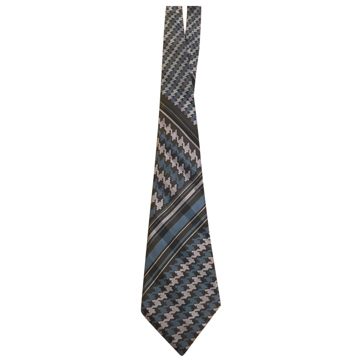 Pierre Cardin - Cravates   pour homme en soie - bleu