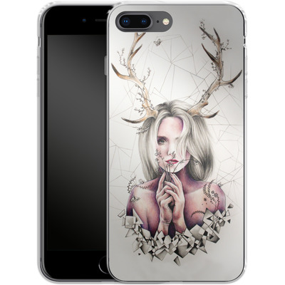 Apple iPhone 7 Plus Silikon Handyhuelle - The Antlers von Kate Powell