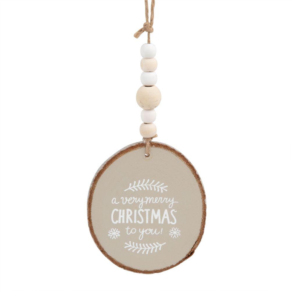 Weihnachtliche Haengedeko, Medaillon