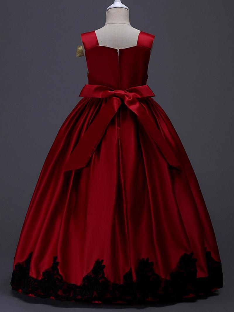 Ericdress Elegant Embroidery Bowknot Girls Princess Dress