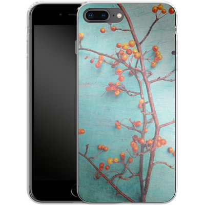 Apple iPhone 8 Plus Silikon Handyhuelle - She Hung Her Dreams on Branches von Joy StClaire
