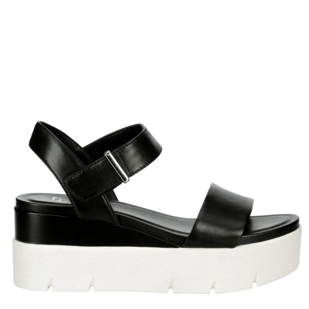 Franco Sarto Womens Varina Platform Wedge Sandal