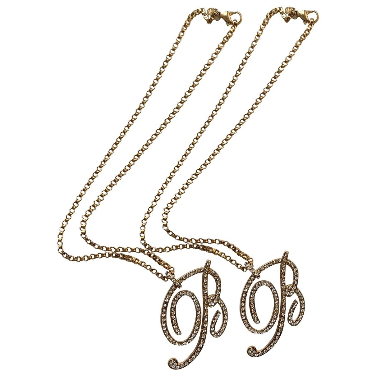 Blumarine - Collier   pour femme en metal - dore