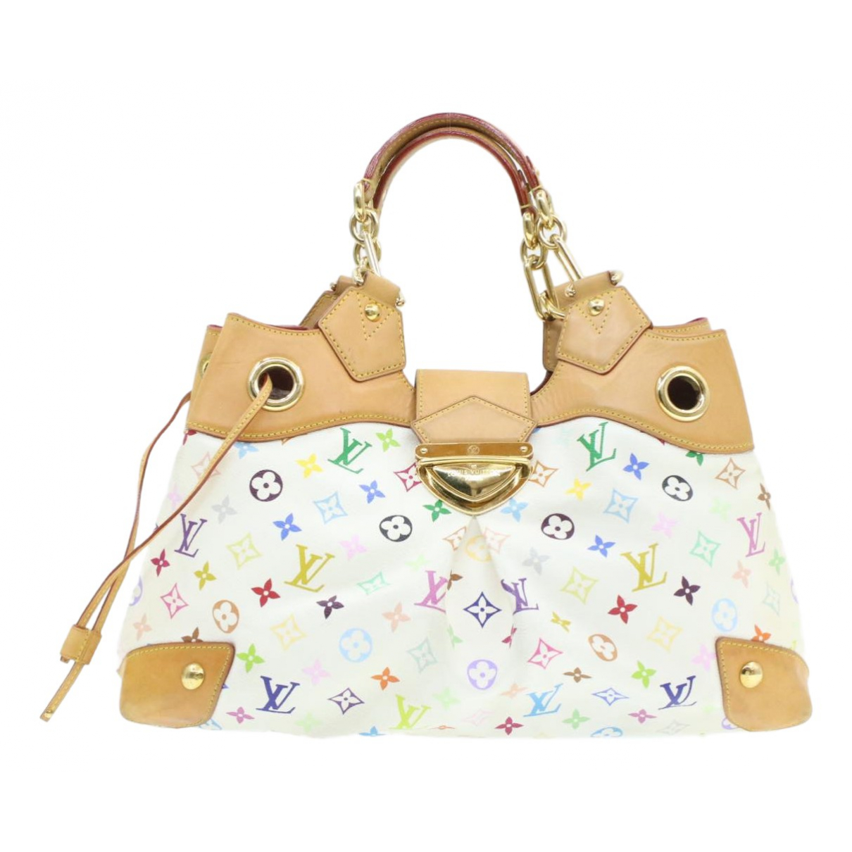 Louis Vuitton Ursula Handtasche in  Bunt Leinen