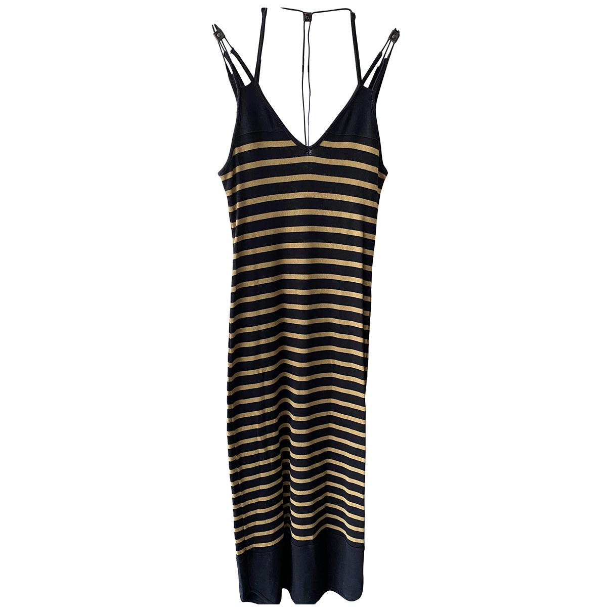 Bill Tornade \N Kleid in  Schwarz Baumwolle