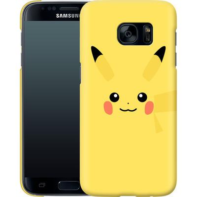Samsung Galaxy S7 Smartphone Huelle - Pikachu by Lucian Foehr von Lucian Foehr