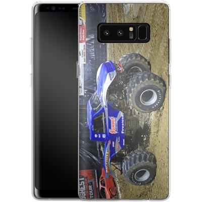 Samsung Galaxy Note 8 Silikon Handyhuelle - Puddle von Bigfoot 4x4
