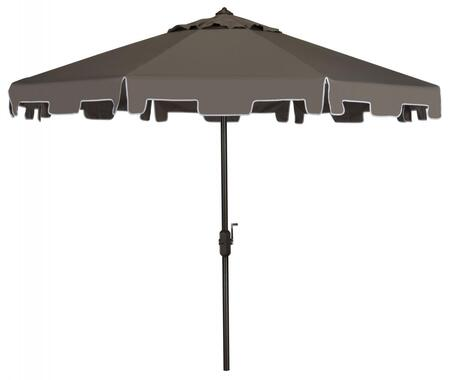 PAT8000E Uv Resistant Zimmerman 9 Ft Crank Market Push Button Tilt Umbrella With Flap in