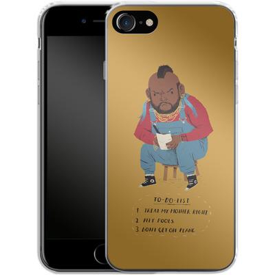Apple iPhone 7 Silikon Handyhuelle - Mr T To Do List von Louis Ros