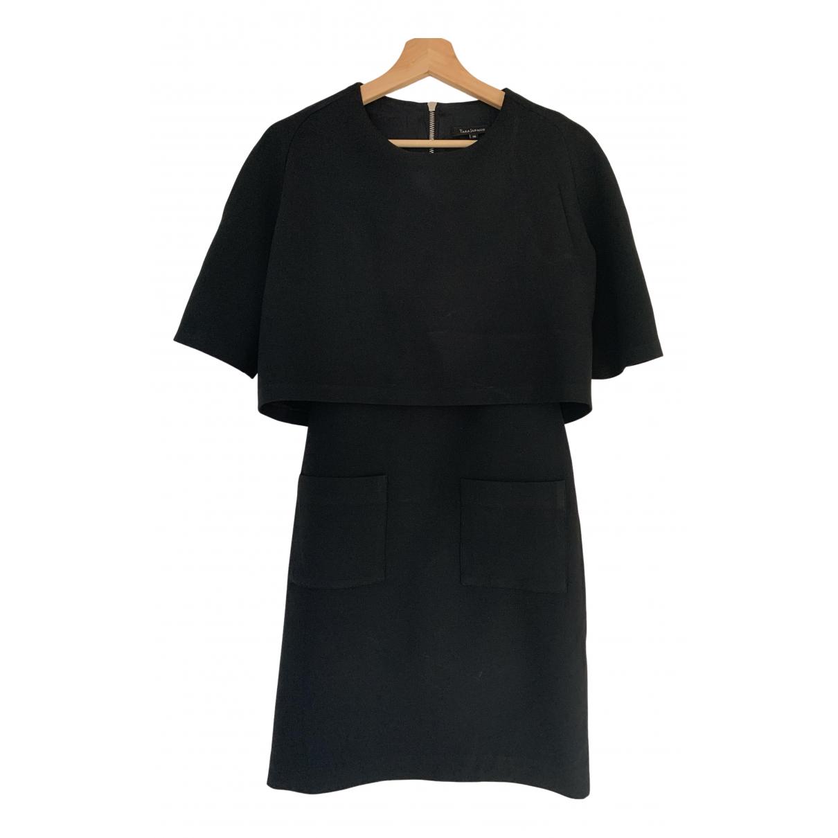 Tara Jarmon \N Kleid in  Schwarz Polyester