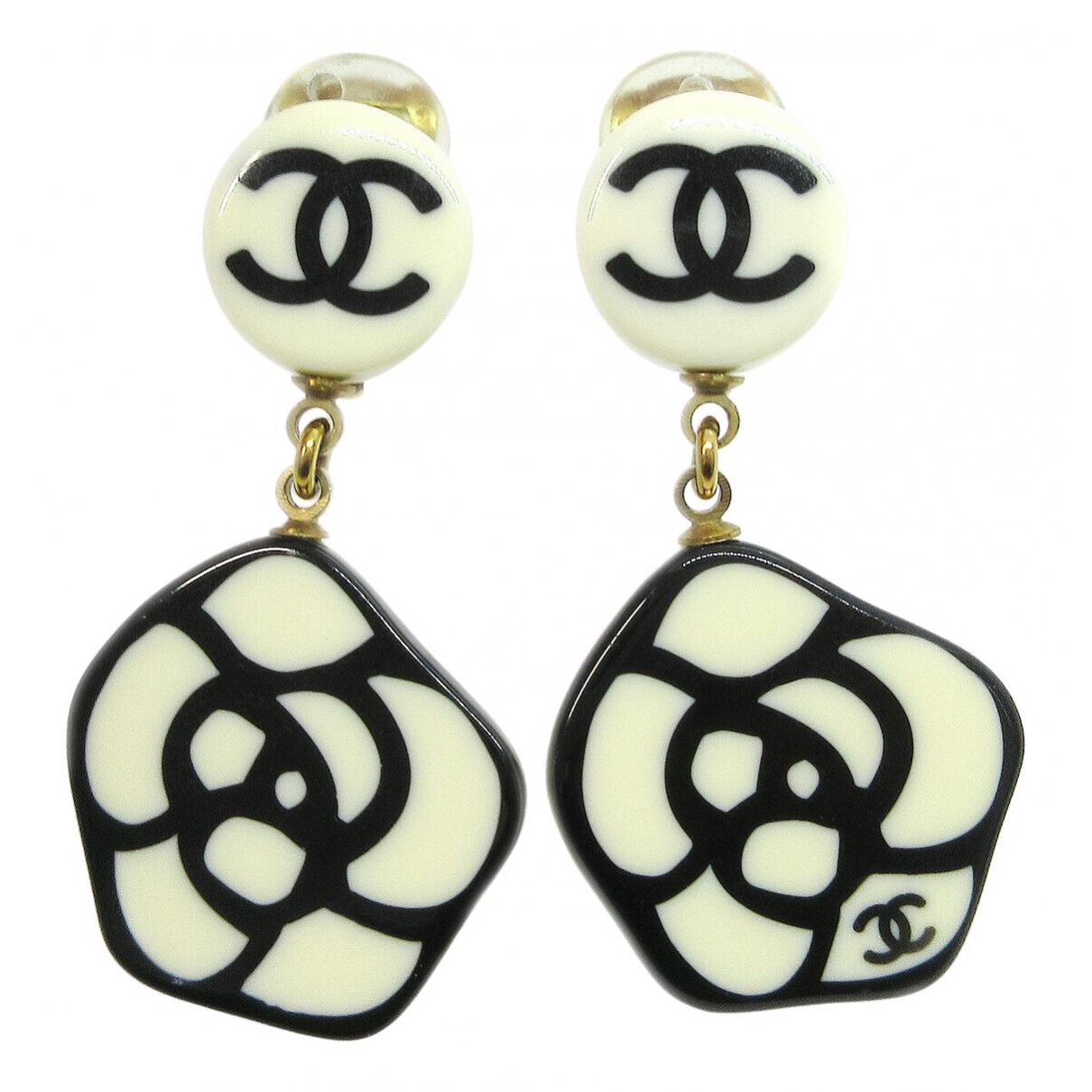 Chanel - Boucles d'oreilles Camelia pour femme