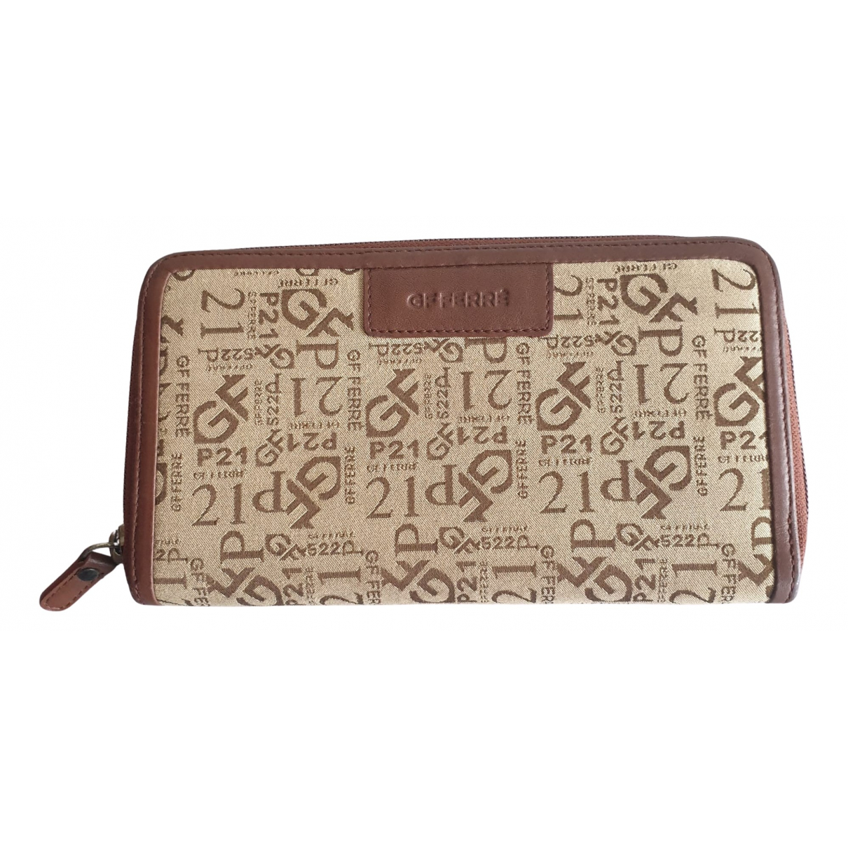 Gianfranco Ferré N Brown Cloth wallet for Women N
