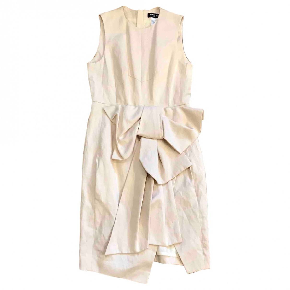 Sonia Rykiel \N Ecru Cotton dress for Women 42 FR