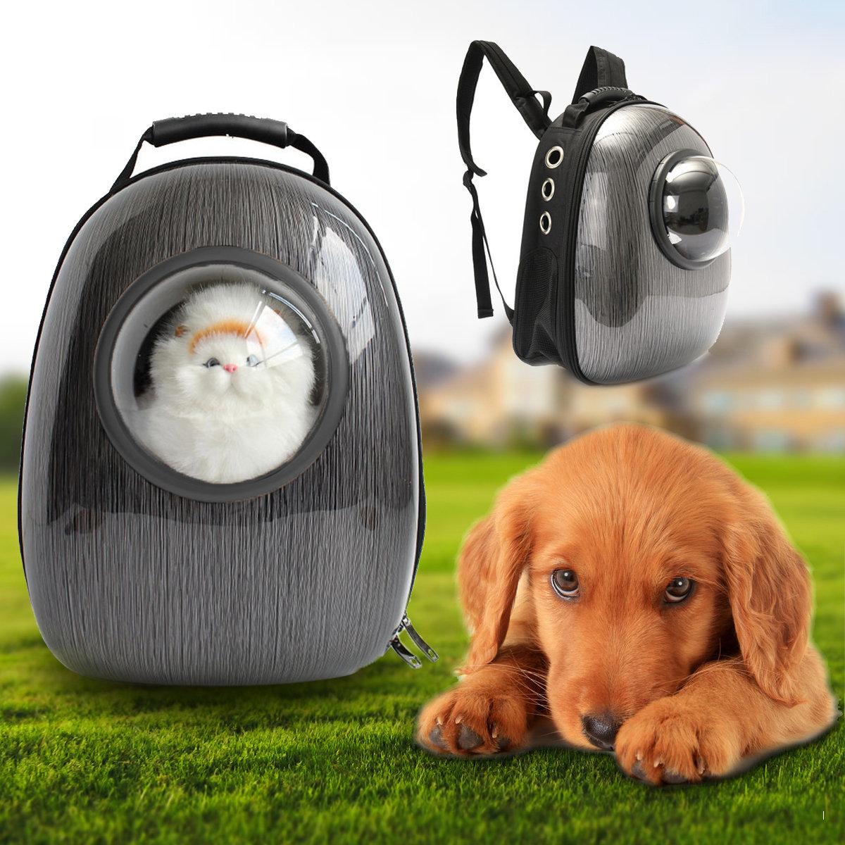 Breathable Transparent Astronaut Pet Backpack Dog Cat Travel Carrier Backpack Bag