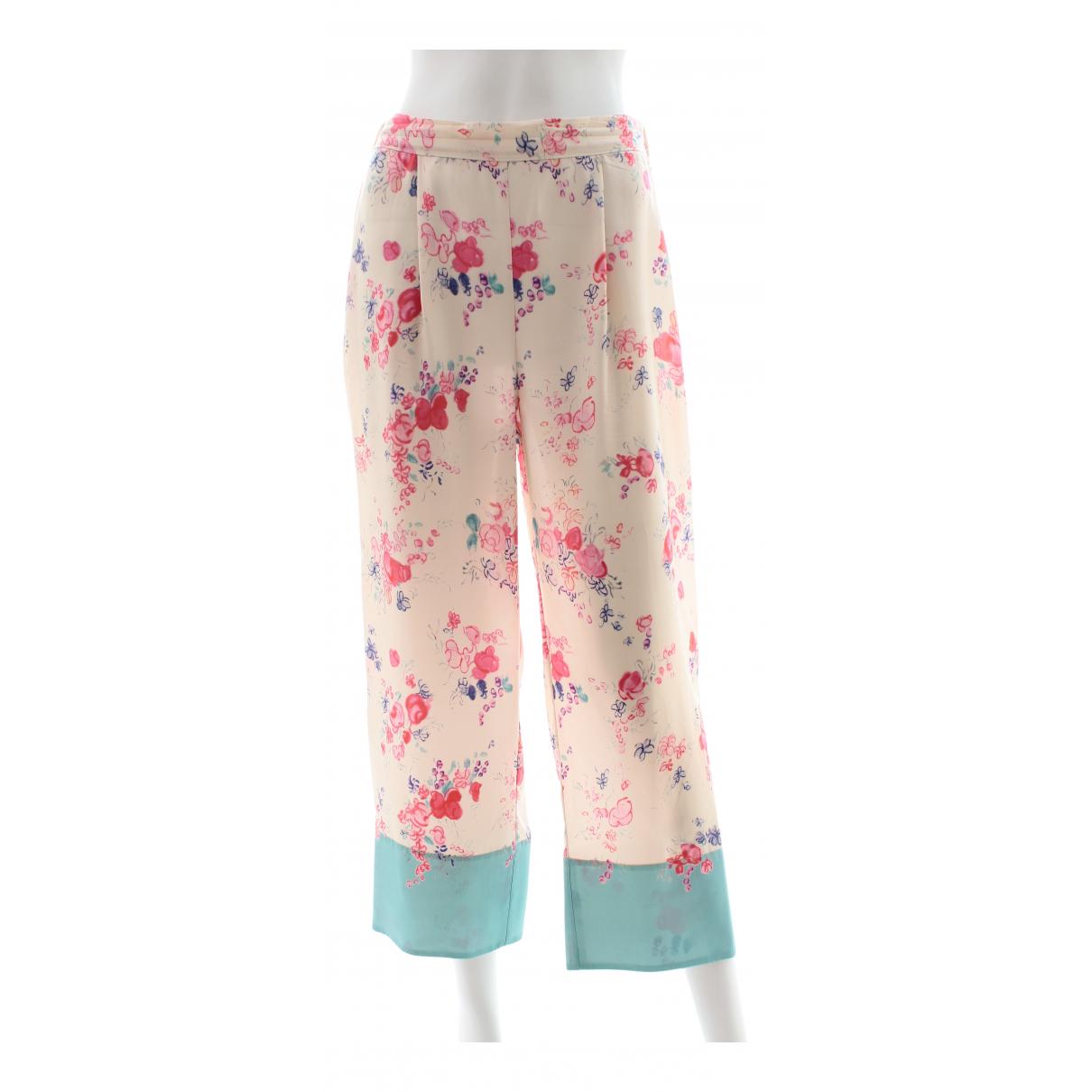 Pantalon de traje de Seda Vilshenko