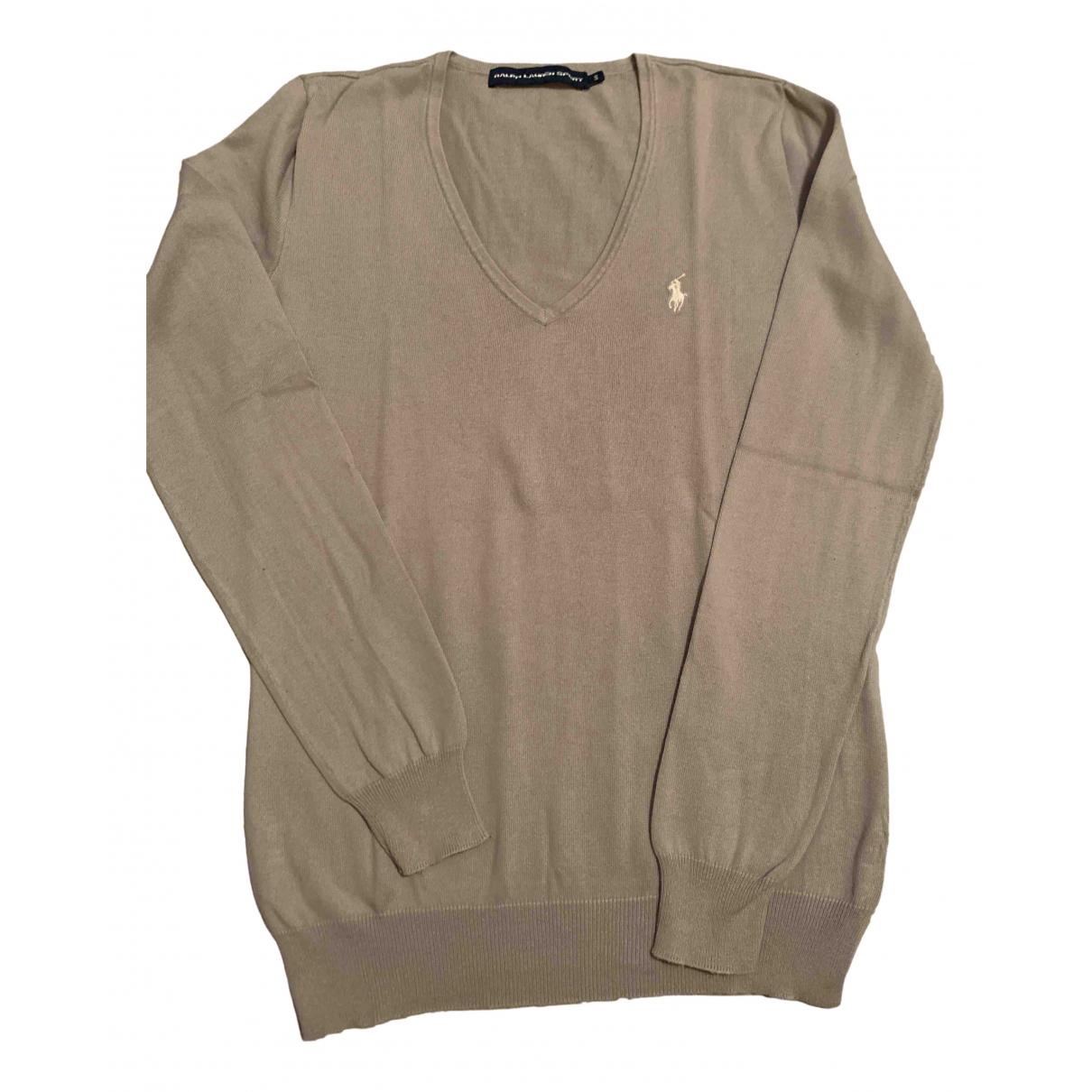 Ralph Lauren - Pull   pour femme en coton - gris