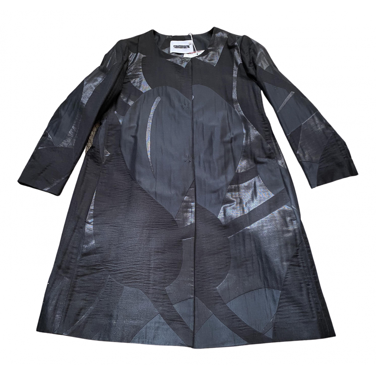 Max & Co \N Black coat for Women 44 IT