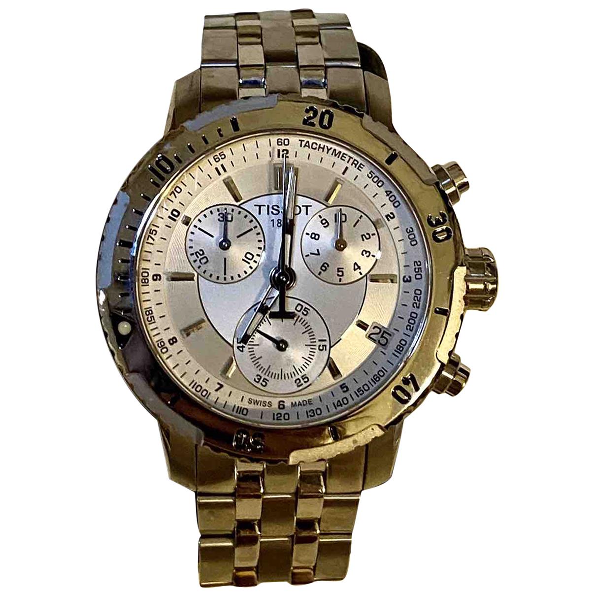 Tissot N Silver Steel watch for Men N