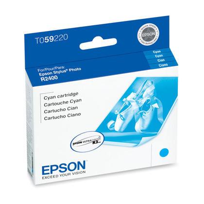 Epson T059220 Original Cyan Ink Cartridge