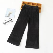 Pantalones de niñas Liso Casual