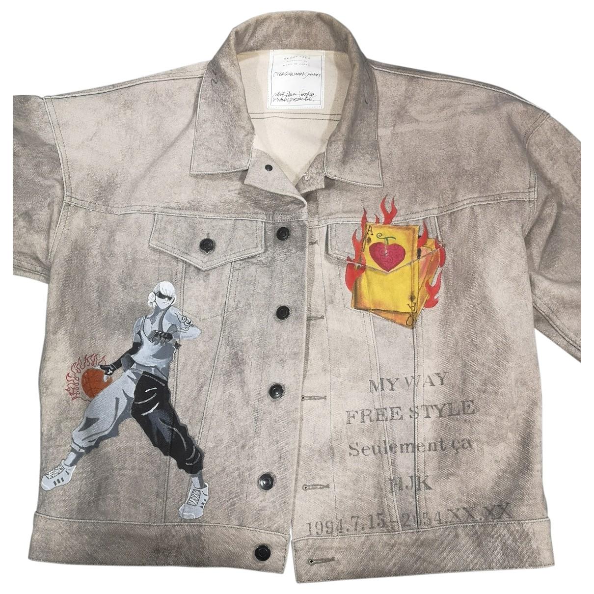 Readymade \N Grey Denim - Jeans jacket for Women 14 UK