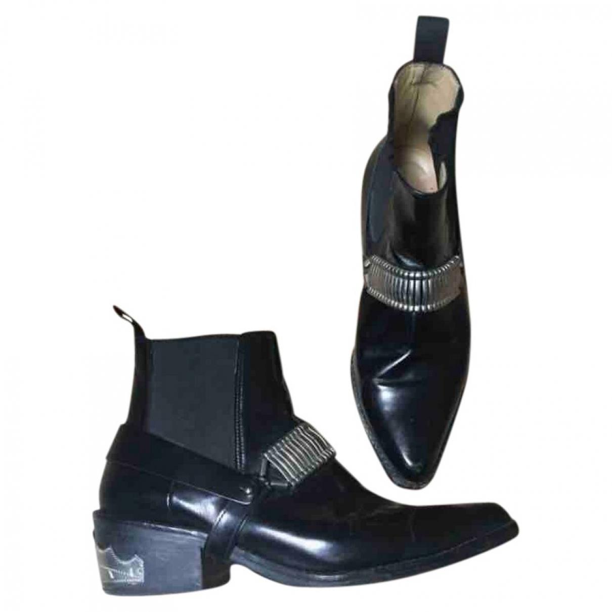 Toga Pulla - Boots   pour femme en cuir - orange