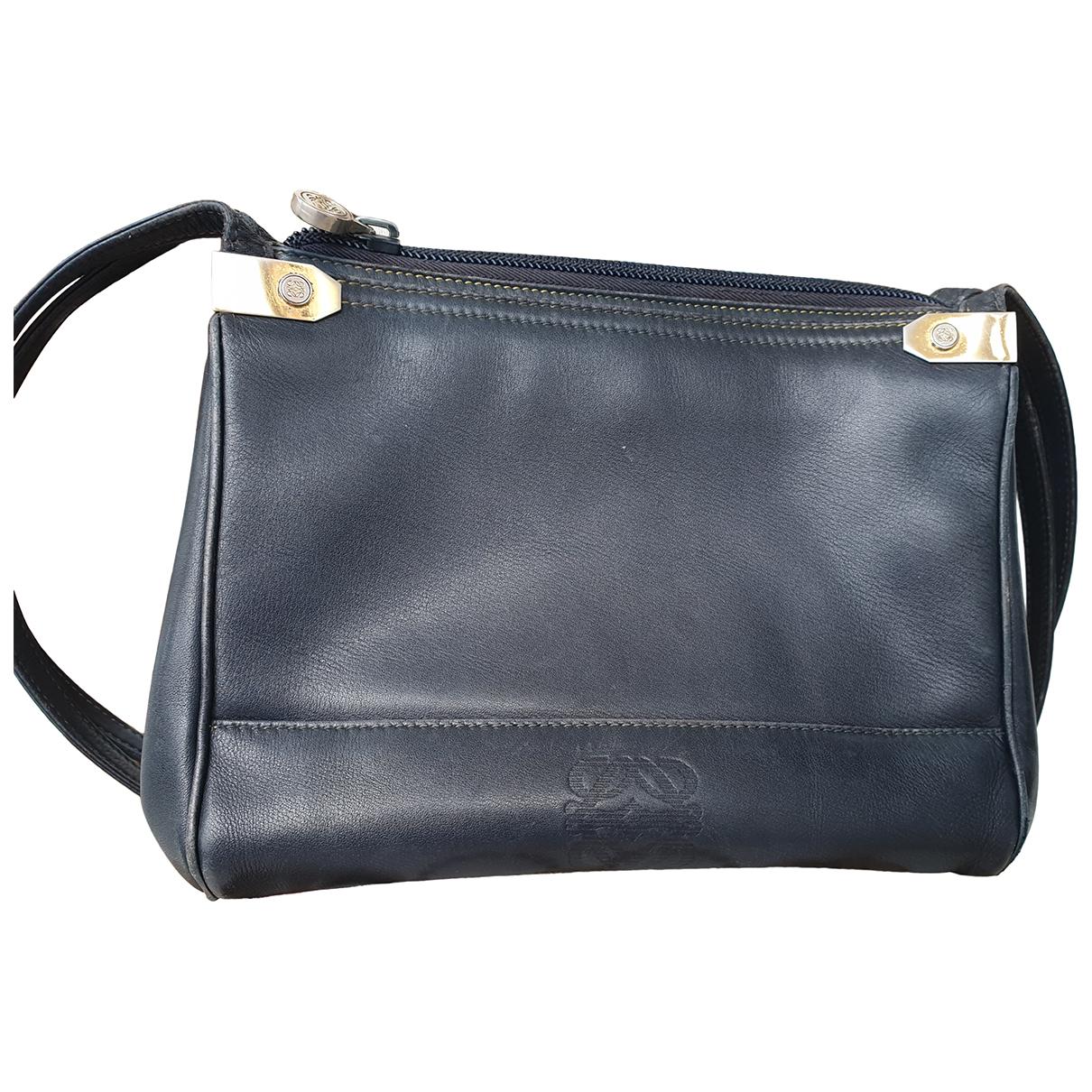 Loewe N Blue Leather handbag for Women N