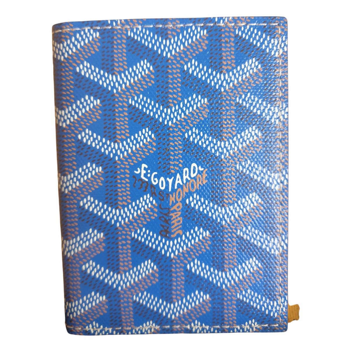 Goyard \N Blue Cloth Purses, wallet & cases for Women \N