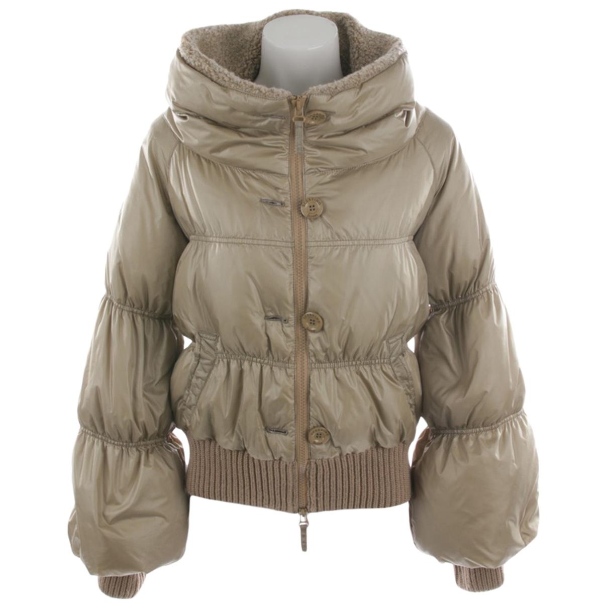 Ermanno Scervino \N Beige jacket for Women 36 FR