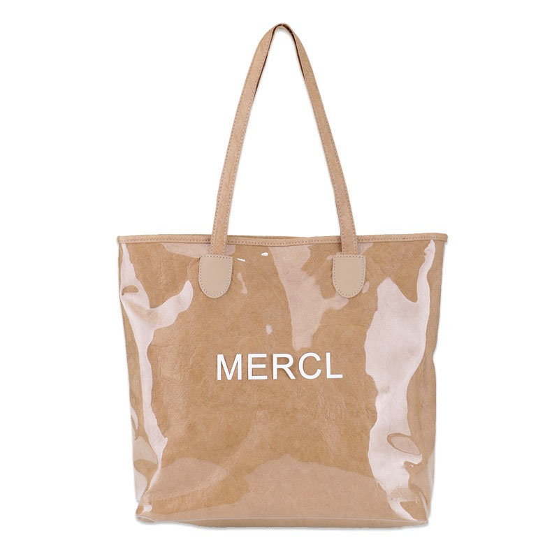 Ericdress PVC Letter Thread Rectangle Shoulder Bags