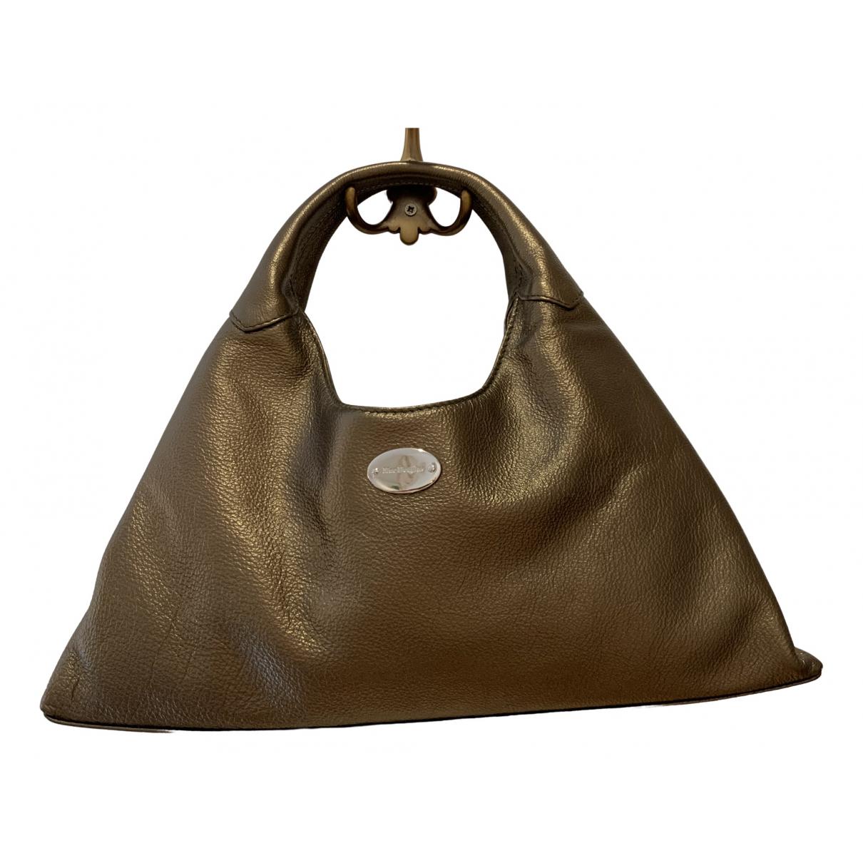 Mac Douglas \N Metallic Leather handbag for Women \N