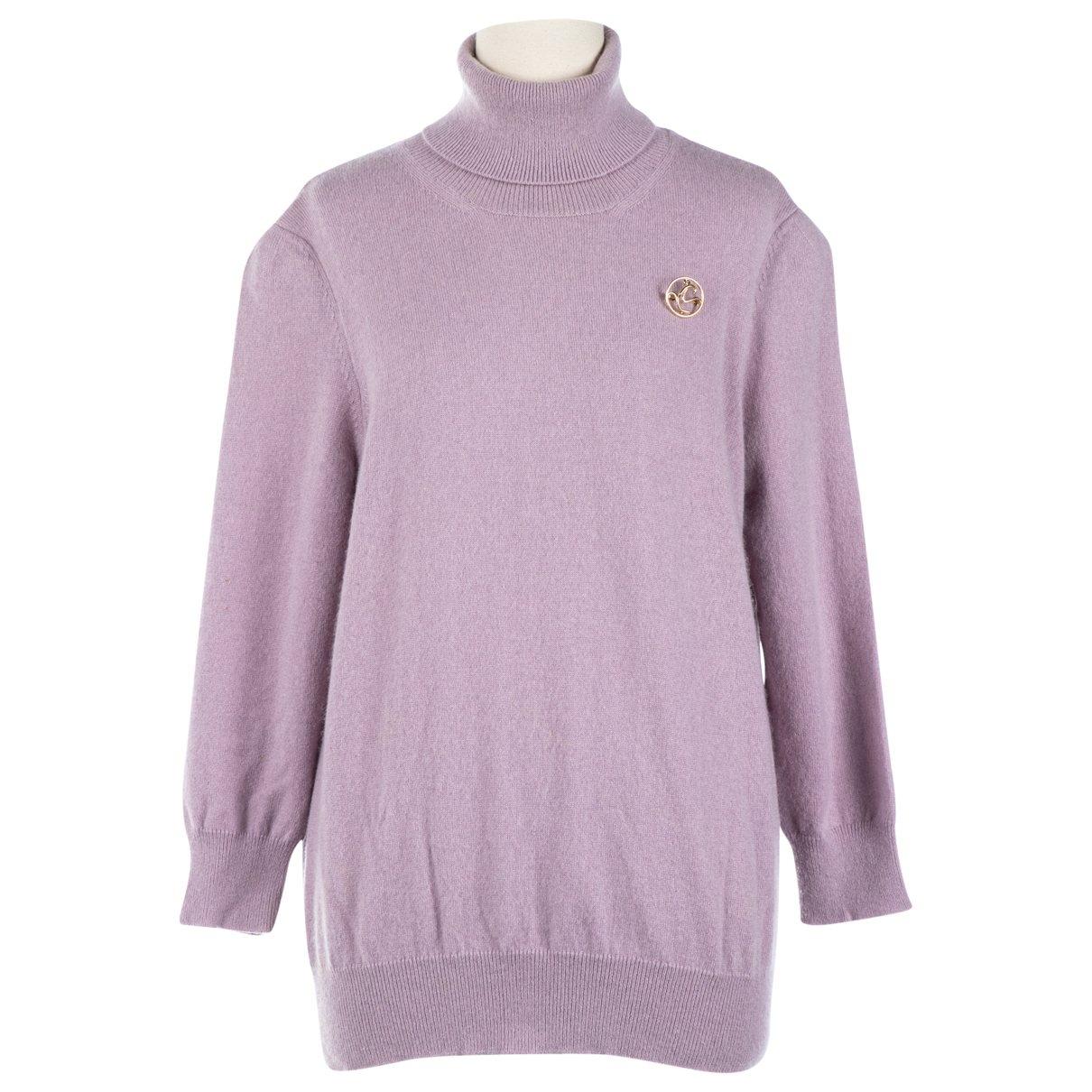 Louis Vuitton - Pull   pour femme en cachemire - violet