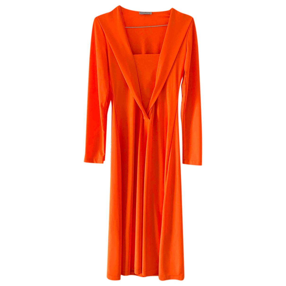 Saks Potts - Robe   pour femme - orange