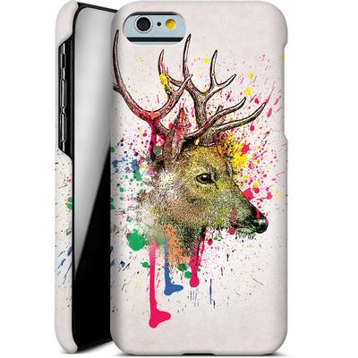 Apple iPhone 6s Smartphone Huelle - Splatter Deer von Mark Ashkenazi