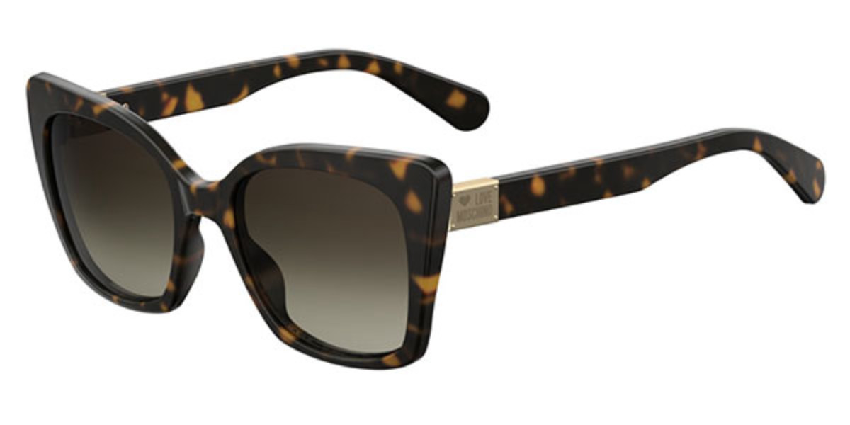 Moschino Love MOL000/S 086/HA Women's Sunglasses Tortoise Size 53