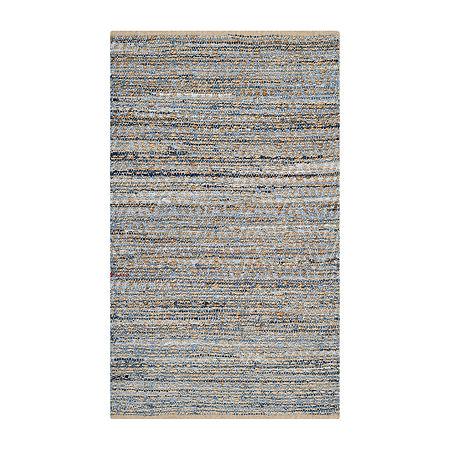 Safavieh Gideon Striped Rug, One Size , Blue