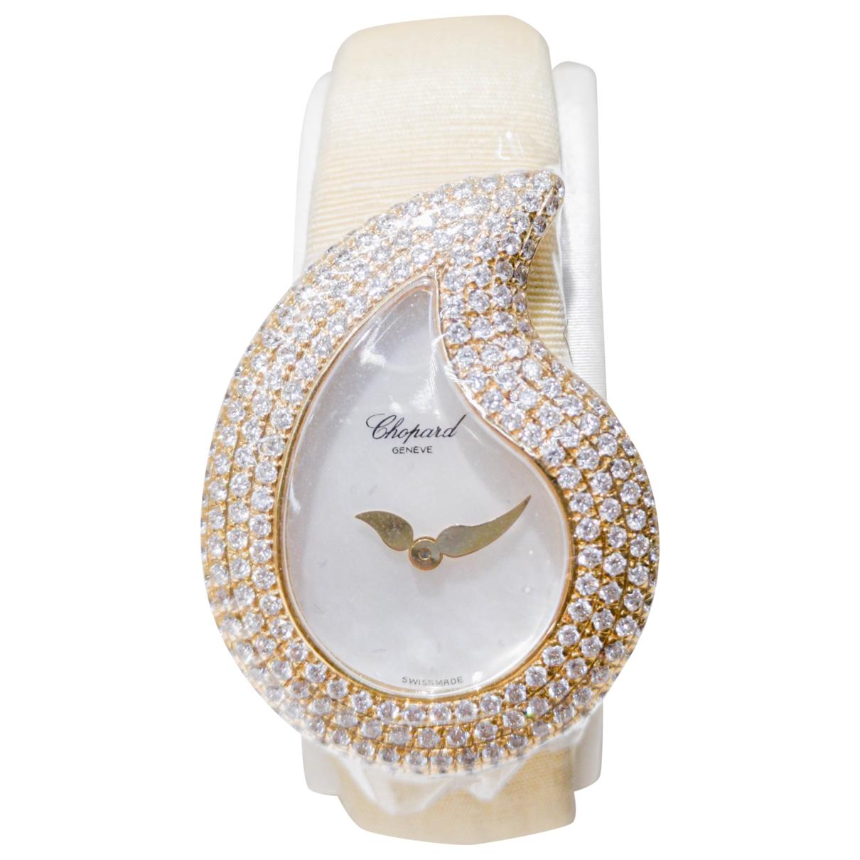 Chopard \N Uhr in  Gold Gelbgold