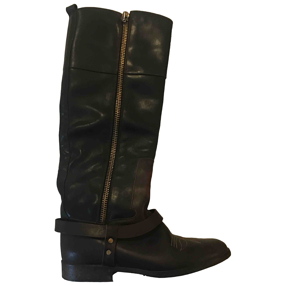 Golden Goose \N Brown Leather Boots for Women 36 EU