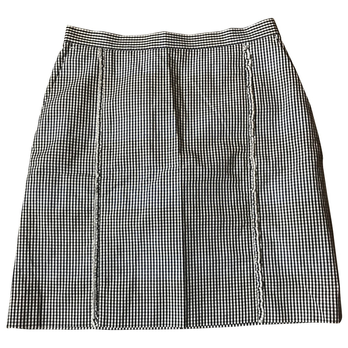 Paul Smith \N Blue Cotton skirt for Women 44 FR